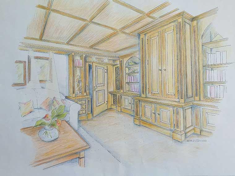Raumplanung Wohnzimmer